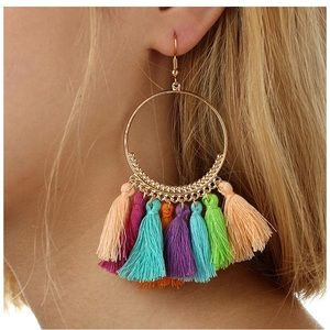 Two pairs tassel earrings - NWOT